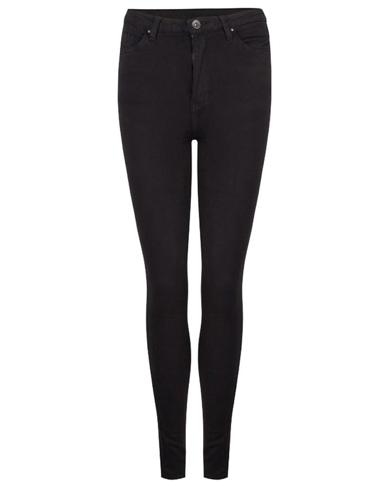 Jeans Zwart High Waist Lou